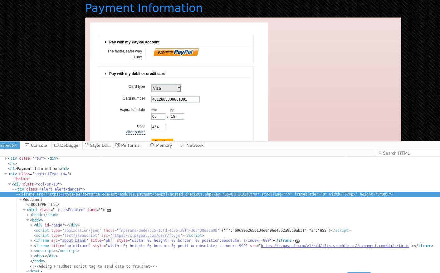 PayPal HS - no seller protection w/PayPal App v4 039