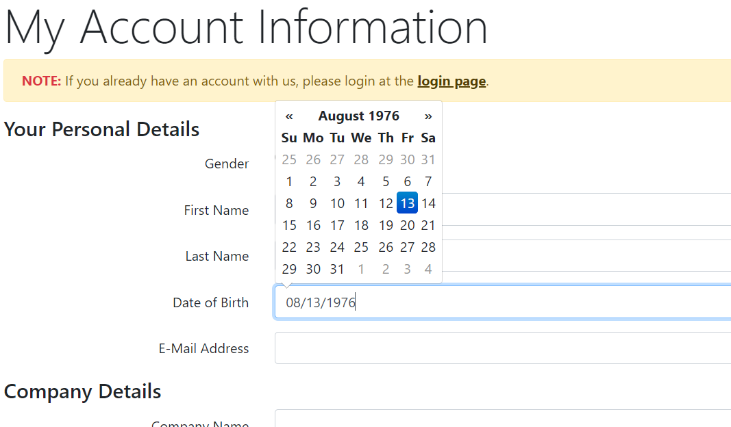Bootstrap jquery date picker not showing UK format